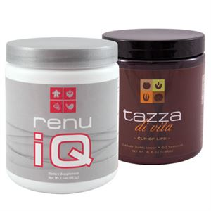 Picture of Renu IQ - 1 canister + Tazza Di Vita Coffee - 1 canister