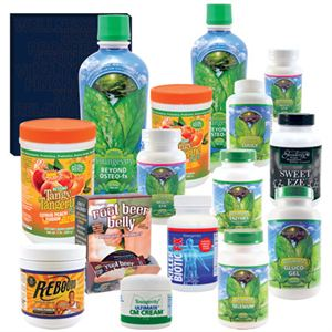 Picture of Healthy Start CEO Mega Combo Pak: (Shellfish free/Liquid Osteo)