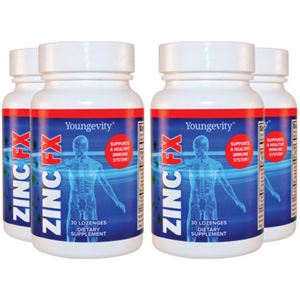 Picture of Zinc Fx™ - 30 Lozenges (4 Pack)
