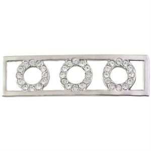 Picture of Build A Bracelet: Silver Tri-Circle Screen