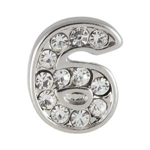 Picture of Silver Number Six Charm