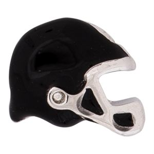 Picture of Black Football Helmet Charm