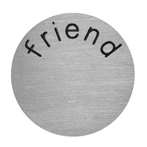 Picture of 'Friend' Large Silver Coin