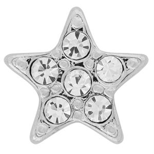 Picture of Pave Star Silver Charm