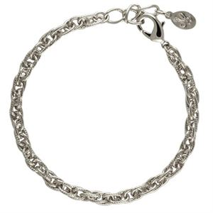 Picture of Silver Textured Rope Bracelet