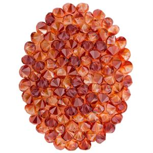 Picture of Red Magma Crystal Oval Screen