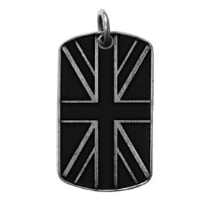 Picture of UK Flag Dog Tag