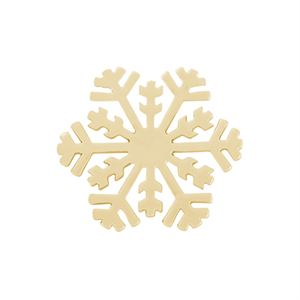 Picture of Large Gold Snowflake Screen