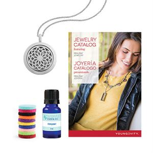 Picture of Peppermint Essential Oil Locket Kit
